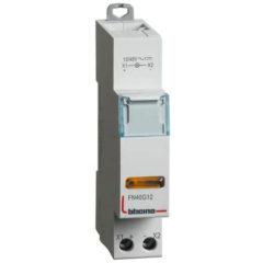 Singola LED gialla Bticino 12/48v ac/dc